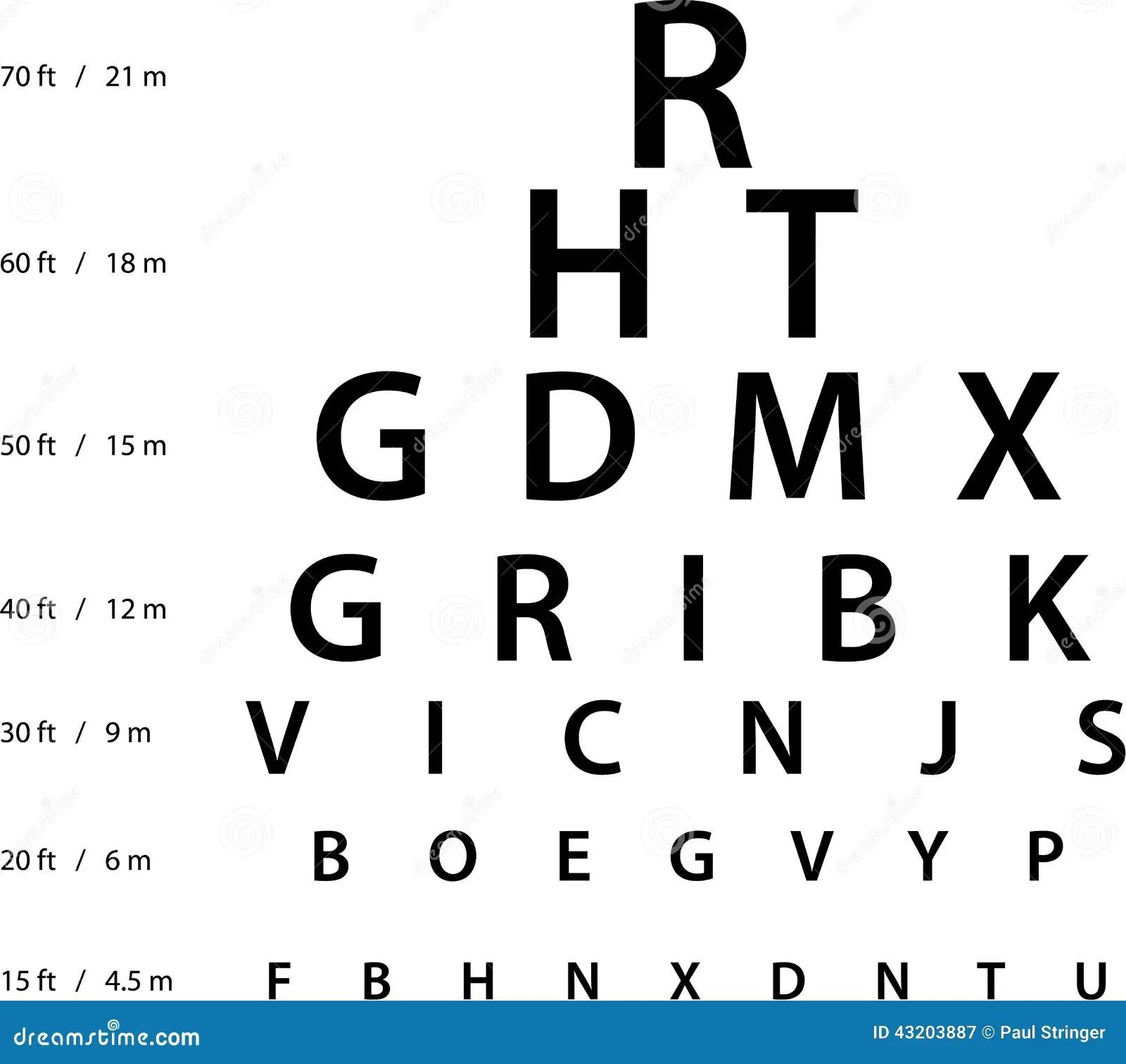 Eye test chart printable dmv eye test chart printable nvjuhfo Image collections