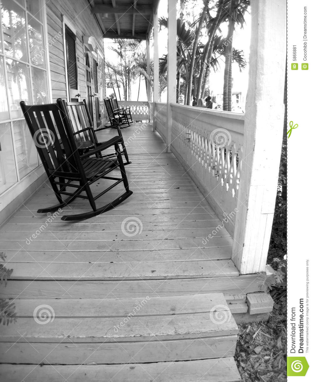 Key West Front Porches