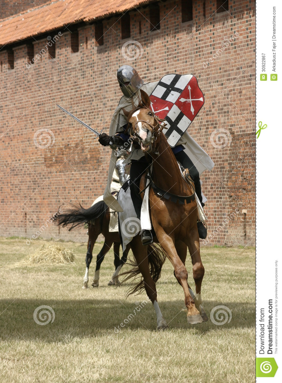Knight On Horse Royalty Free Stock Photography Image