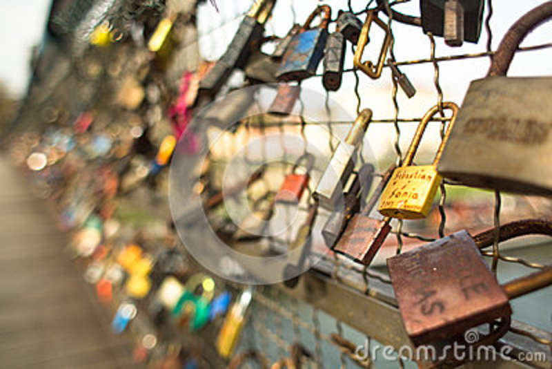 Large Cartoon Pictures Padlocks