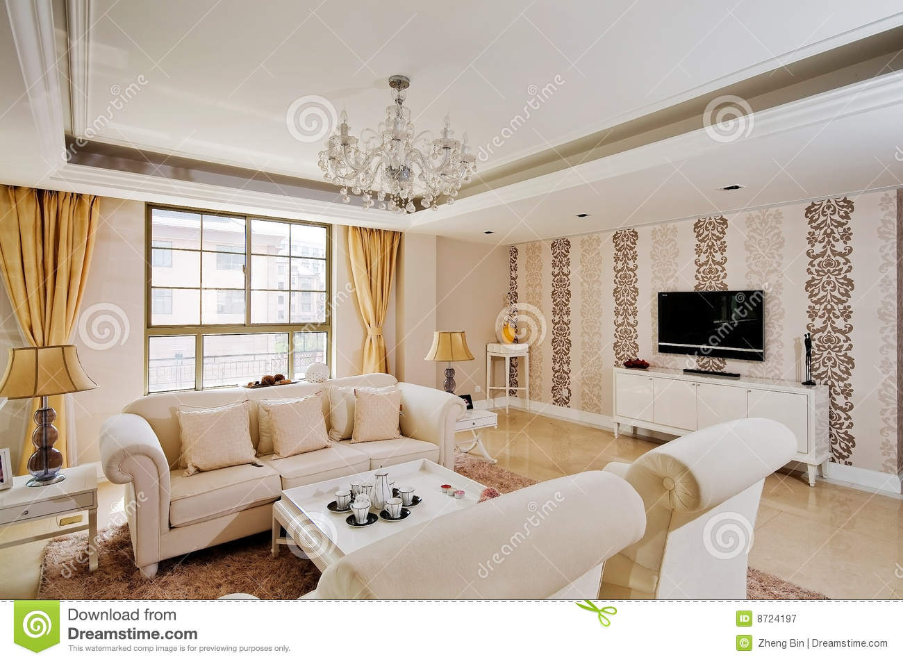 Interior Decoration Flat