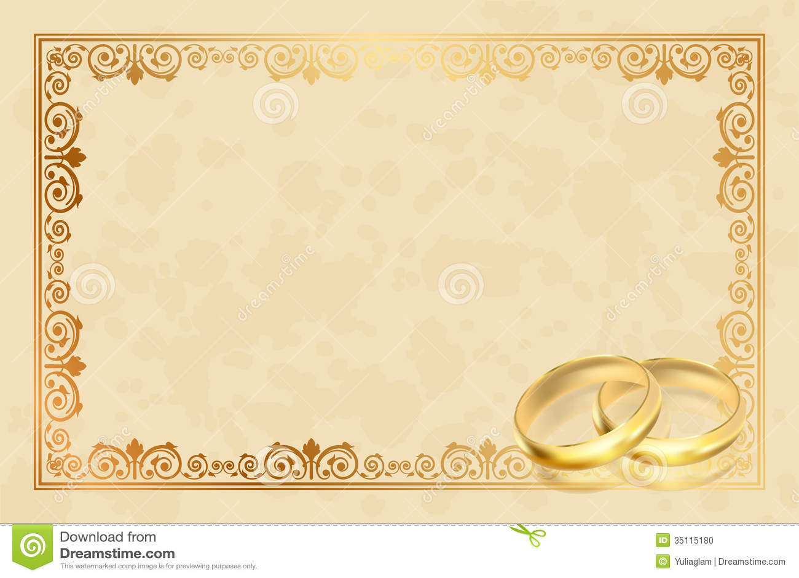 Wedding Anniversary Invitation Templates