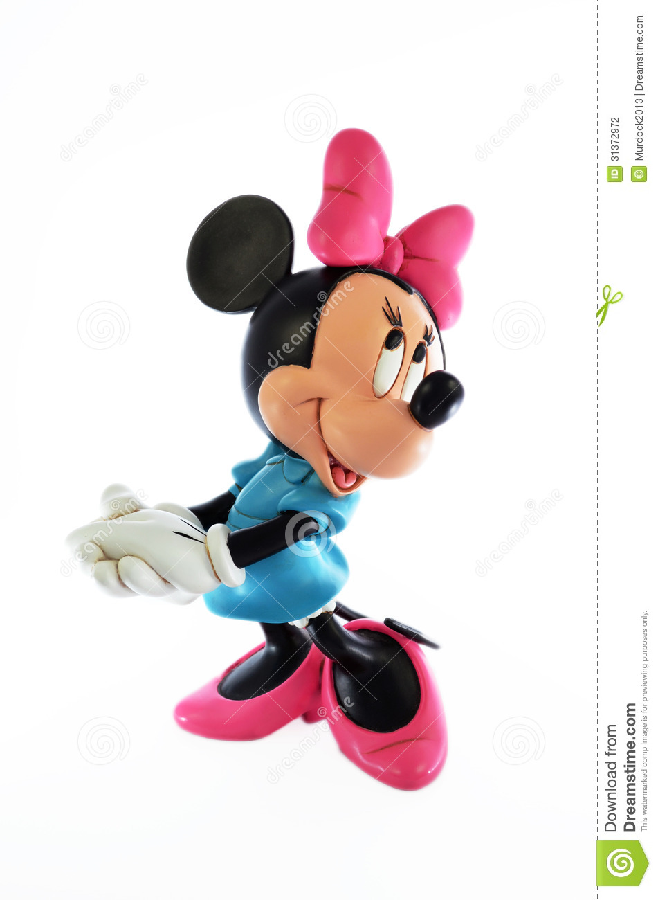Black And Mouse Minnie Mickey And White Mouse Cartoon