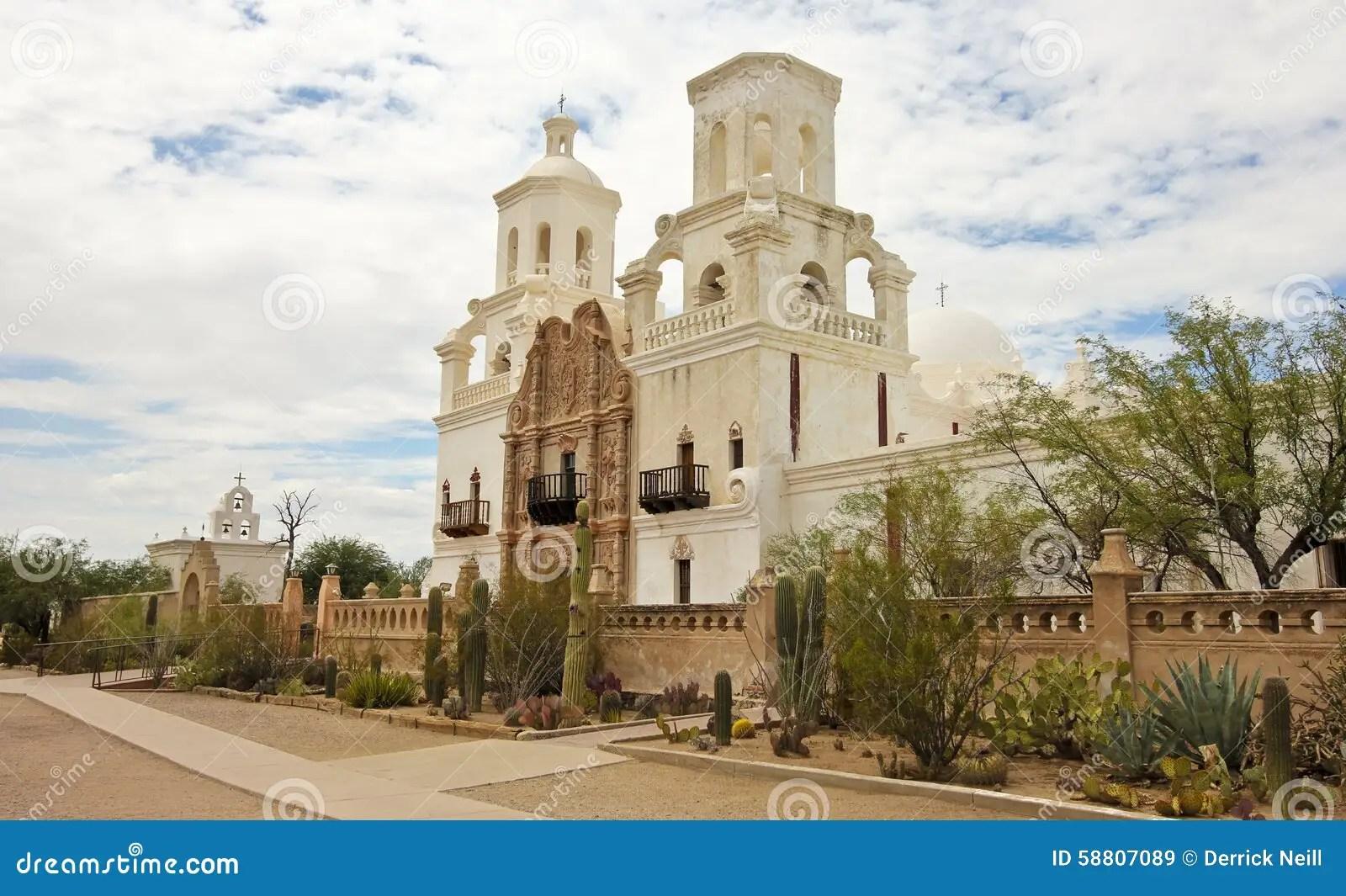 Pictures Saint Tucson Xavier Mission