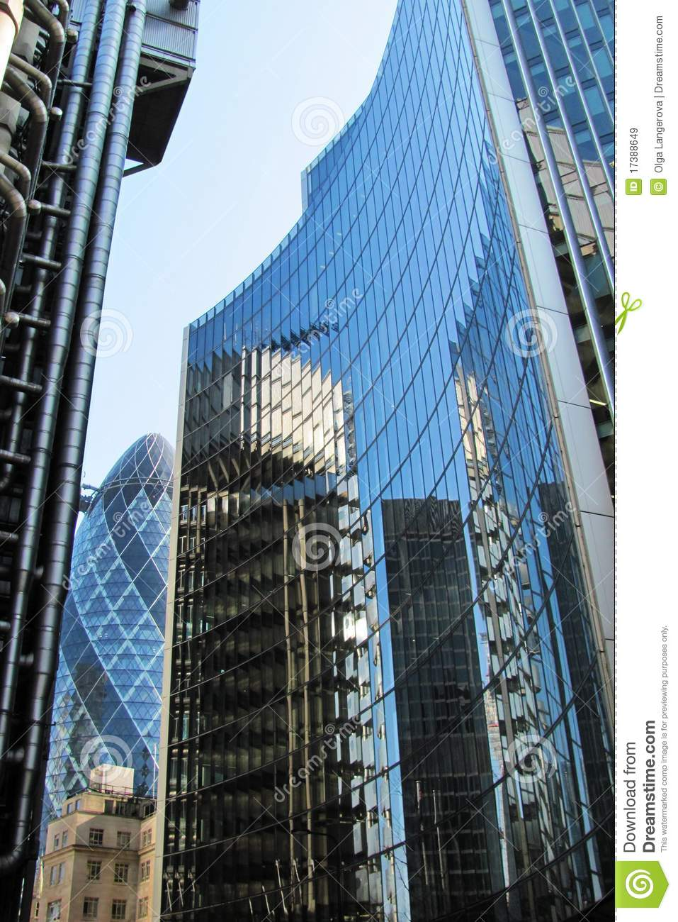 Modern Architecture In London Royalty Free Stock Images
