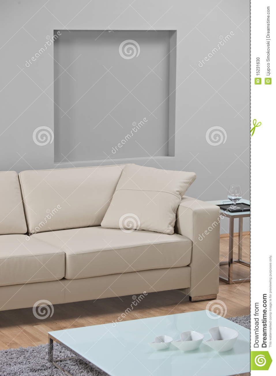 Minimalist Living Room No Couch