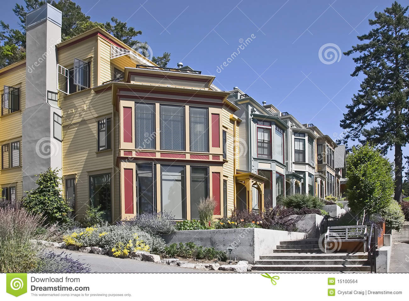 Best Kitchen Gallery: Modern Pacific Northwest Style Town Homes Stock Photo Image Of of Pacific Northwest Style Homes on rachelxblog.com