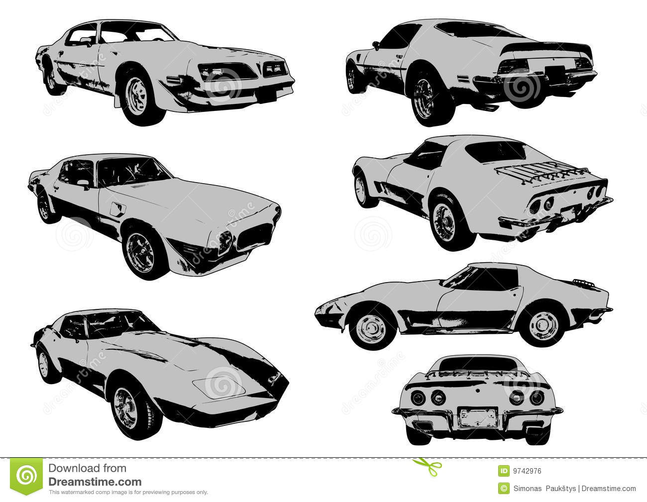 Car Muscle Free Clipart
