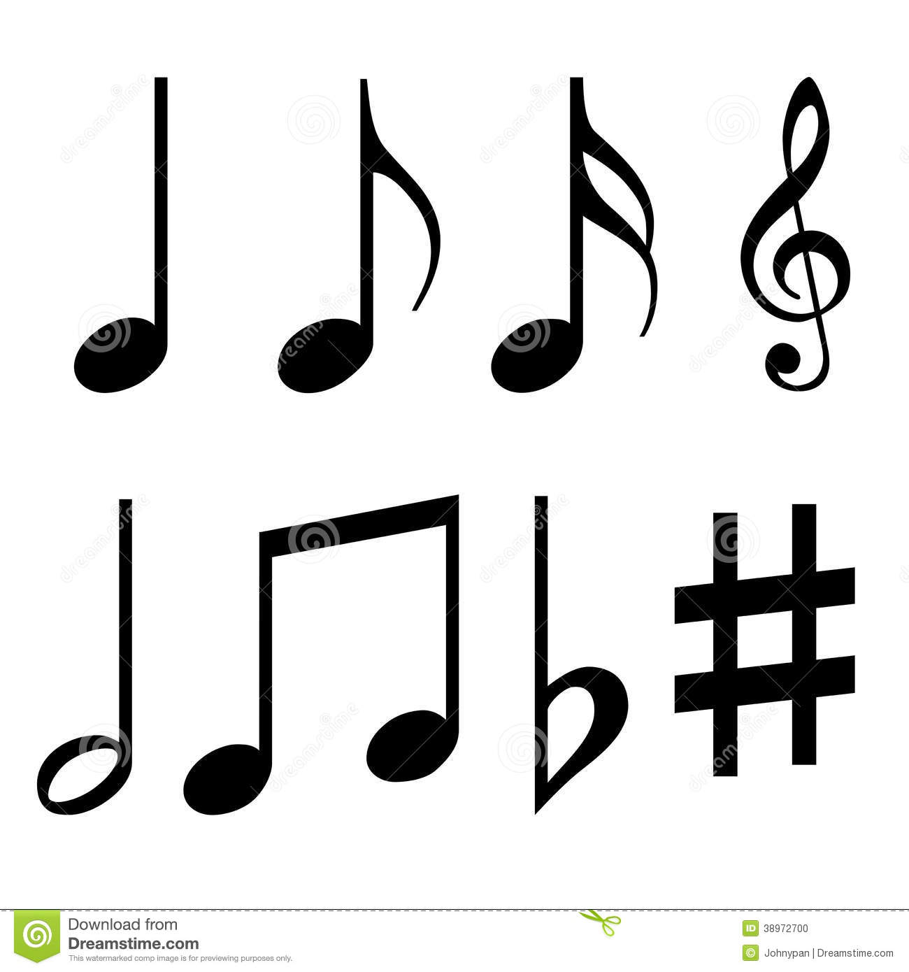 Names Of Notes And Music Note