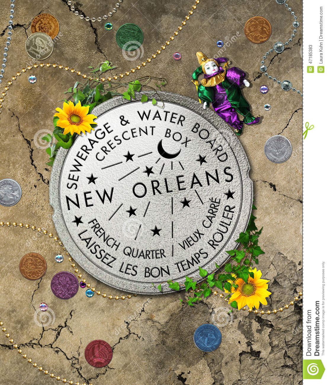 New Map Orleans Quarter