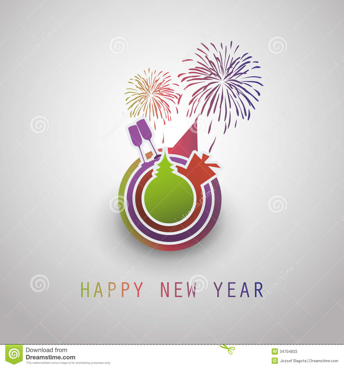 Business happy new year 2014 greeting cards m4hsunfo