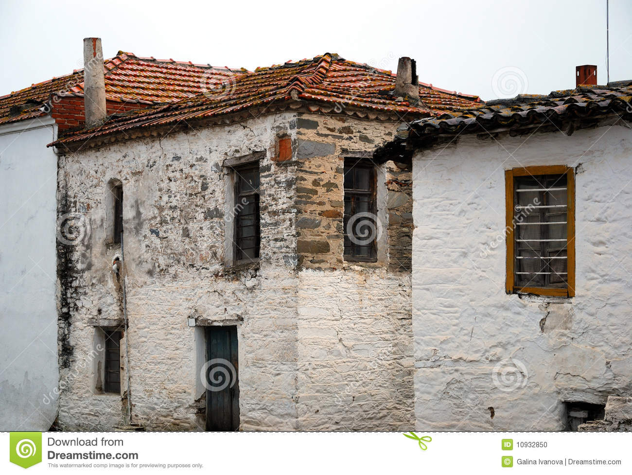 Old Houses In Greece Stock Photo Image Of Home Greece