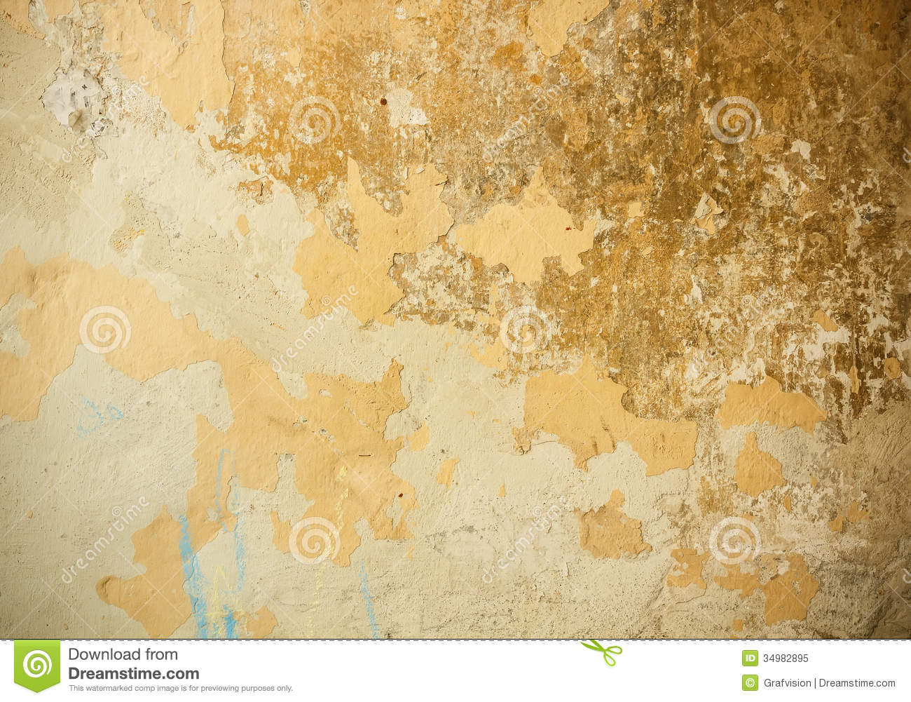 Old Plaster Wall Stock Image Image Of Level Distressed