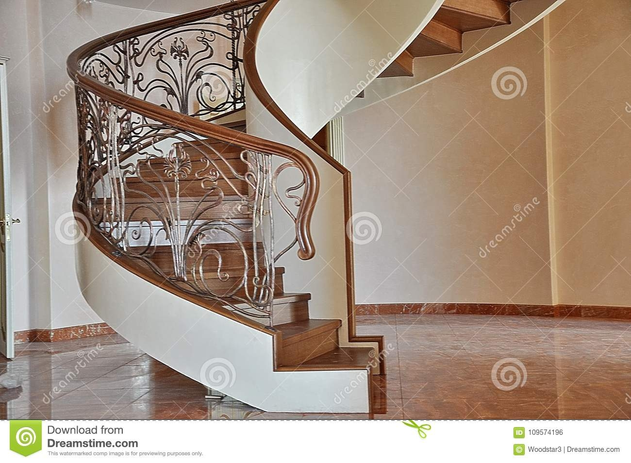 Spiral Spiral Staircase Inside The House Stock Photo Image Of | Staircase Inside House Design | Spiral Stair Case | Stair Railing | Modern Staircase Ideas | Steel | Staircase Makeover