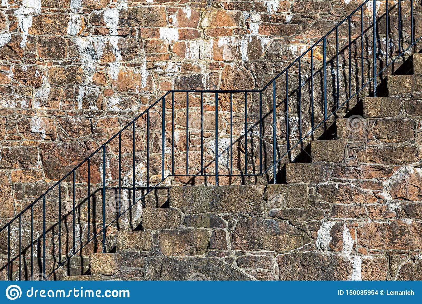 Outside Steps Stock Photo Image Of Travel Urban Stone 150035954   Metal Steps For Outside   Loading Dock   Covered   Round   Easy   Outdoors