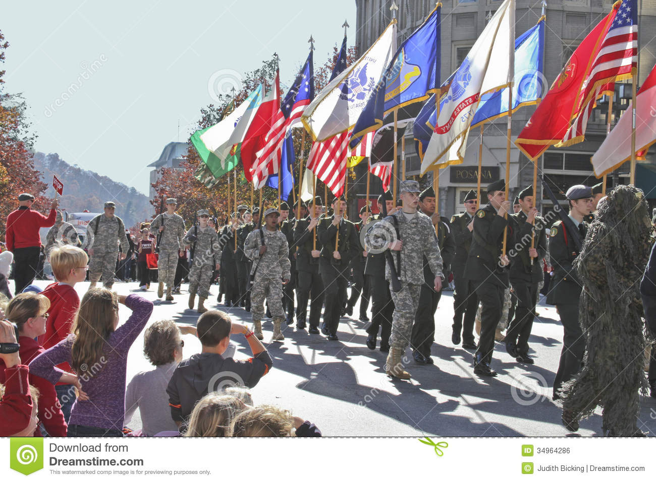 Patriotism On Parade Editorial Photo Image Of Young