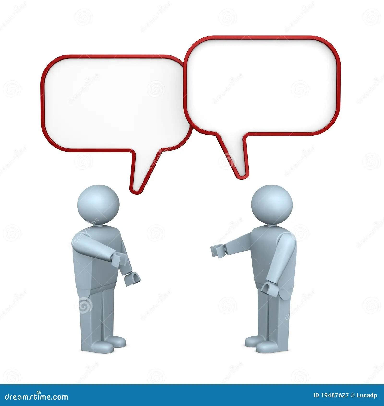 Other Talking People Each Cartoon
