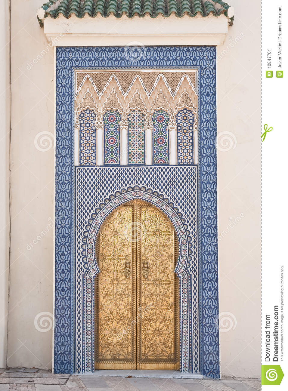 Arab Door Stock Image Image Of Culture Doorway Arches