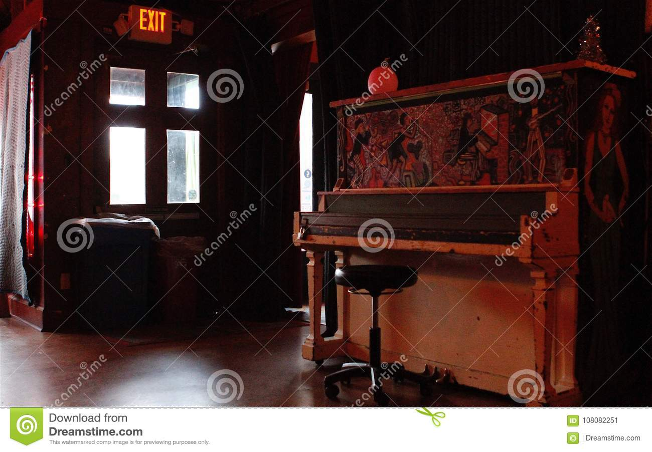 Retro Piano Bar Interior In Athens  Georgia Stock Image   Image of     Download Retro Piano Bar Interior In Athens  Georgia Stock Image   Image of  georgia