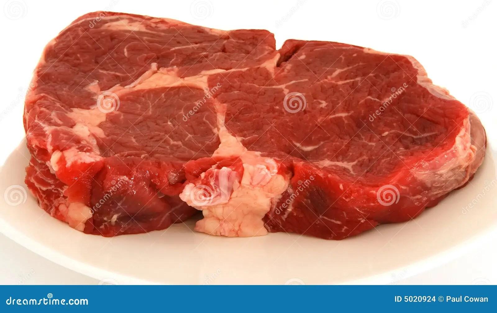 Ribeye Steak Raw Stock Images Image 5020924