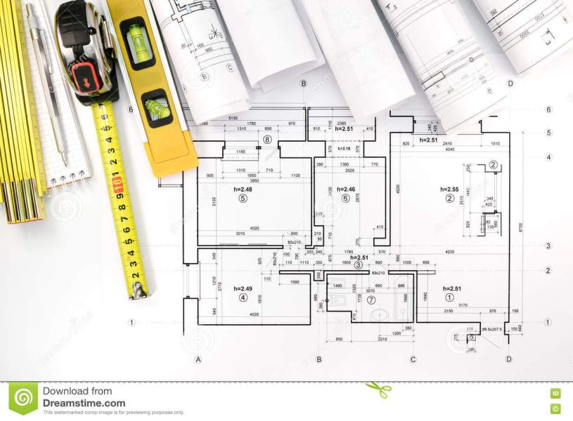 blueprint of house plan Blueprints For House