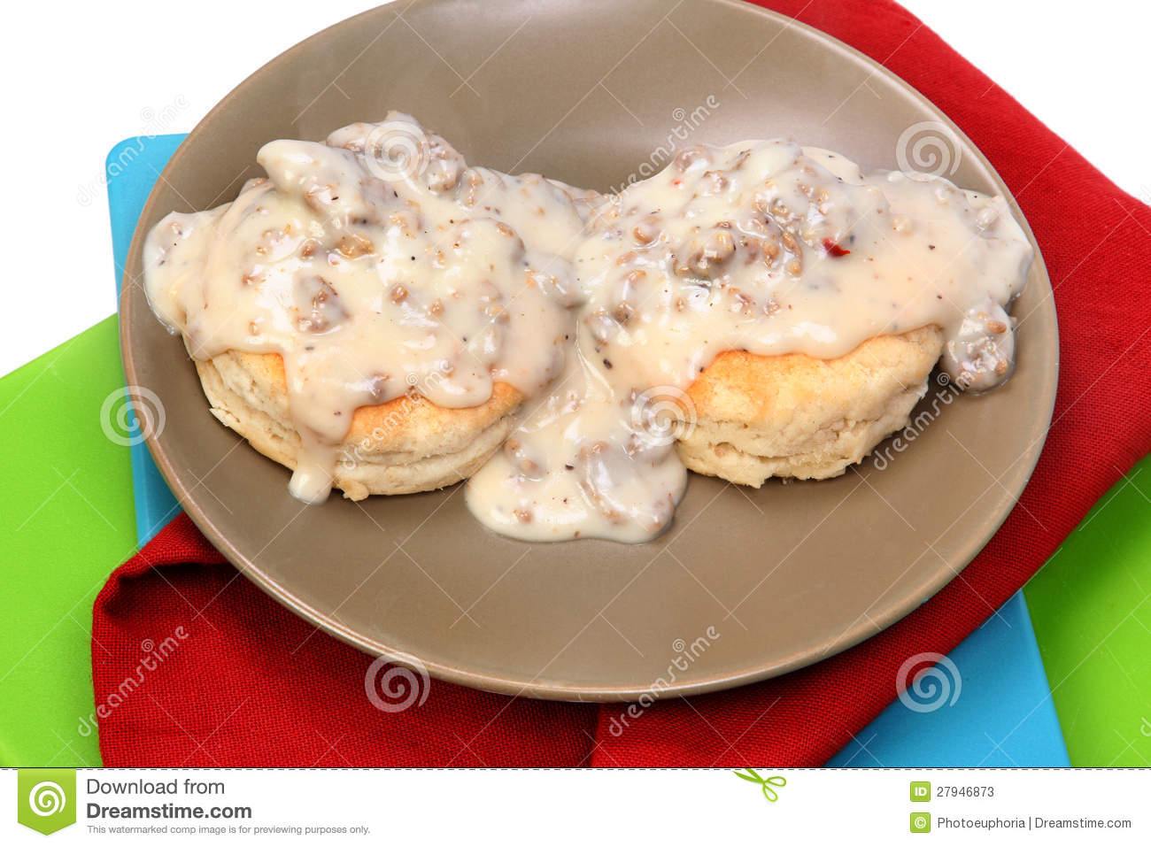 And Cartoon Sausage Biscuits
