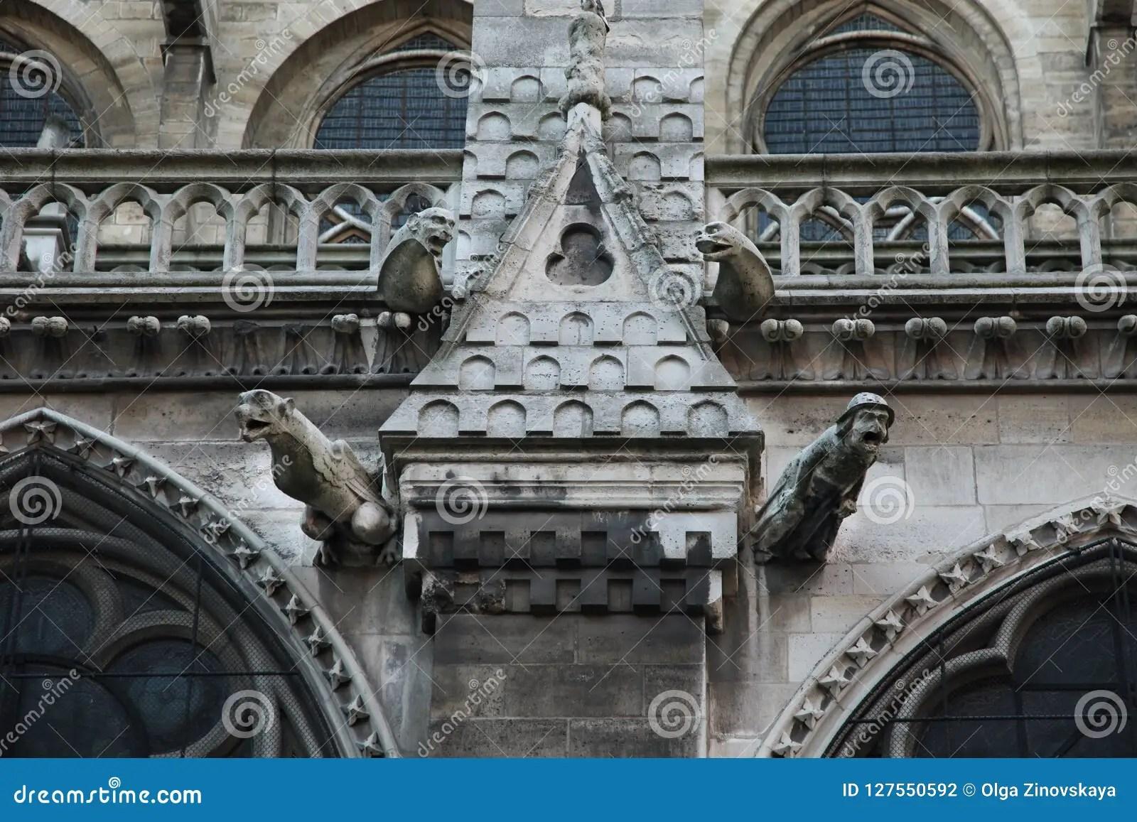Decoration Notre Exterior Dame Paris De
