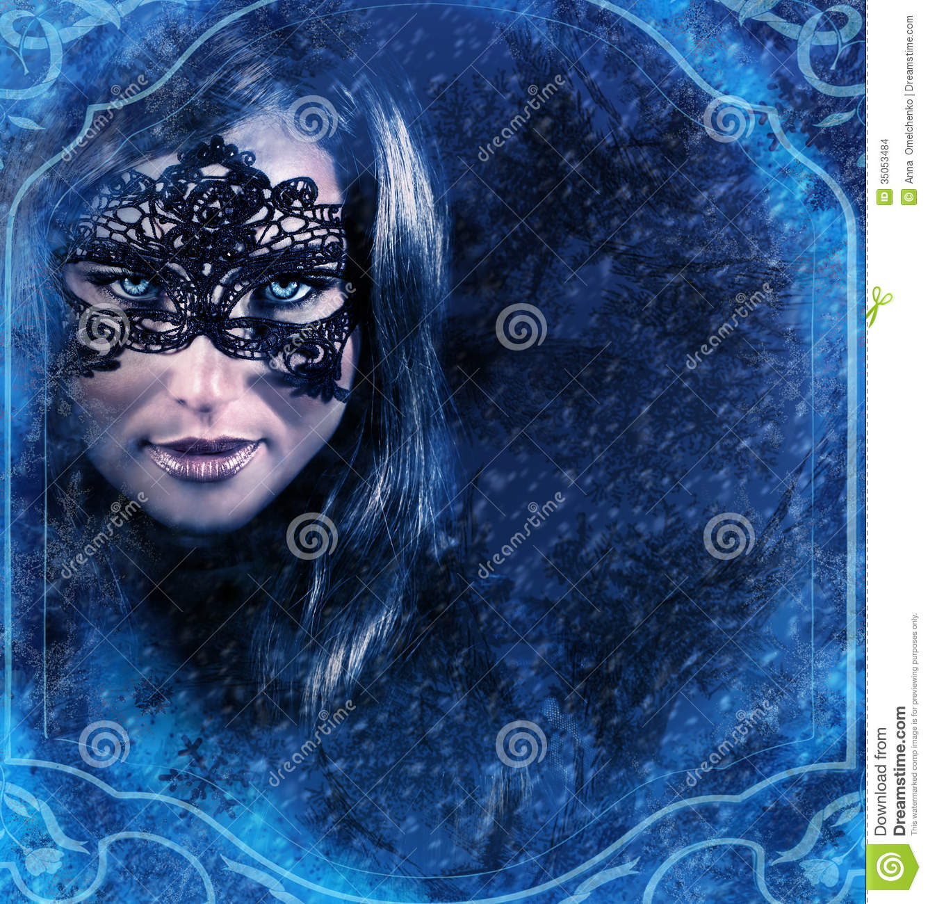 Snow Queen Stock Images Image 35053484