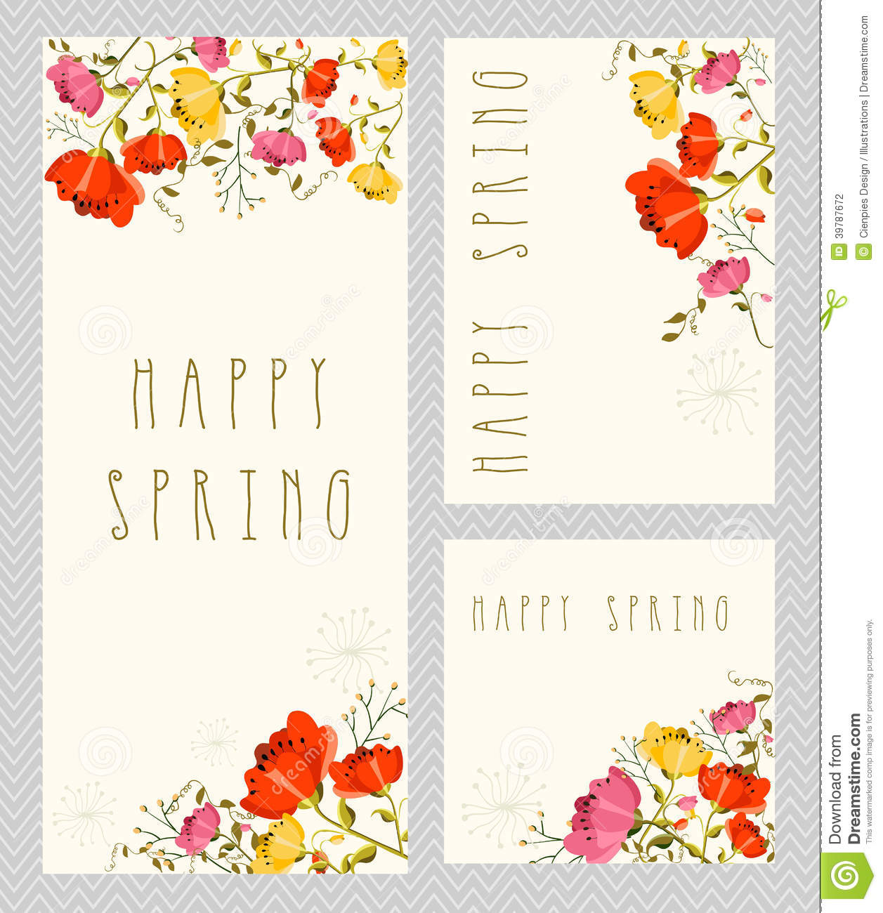 Save Date Cards Spring