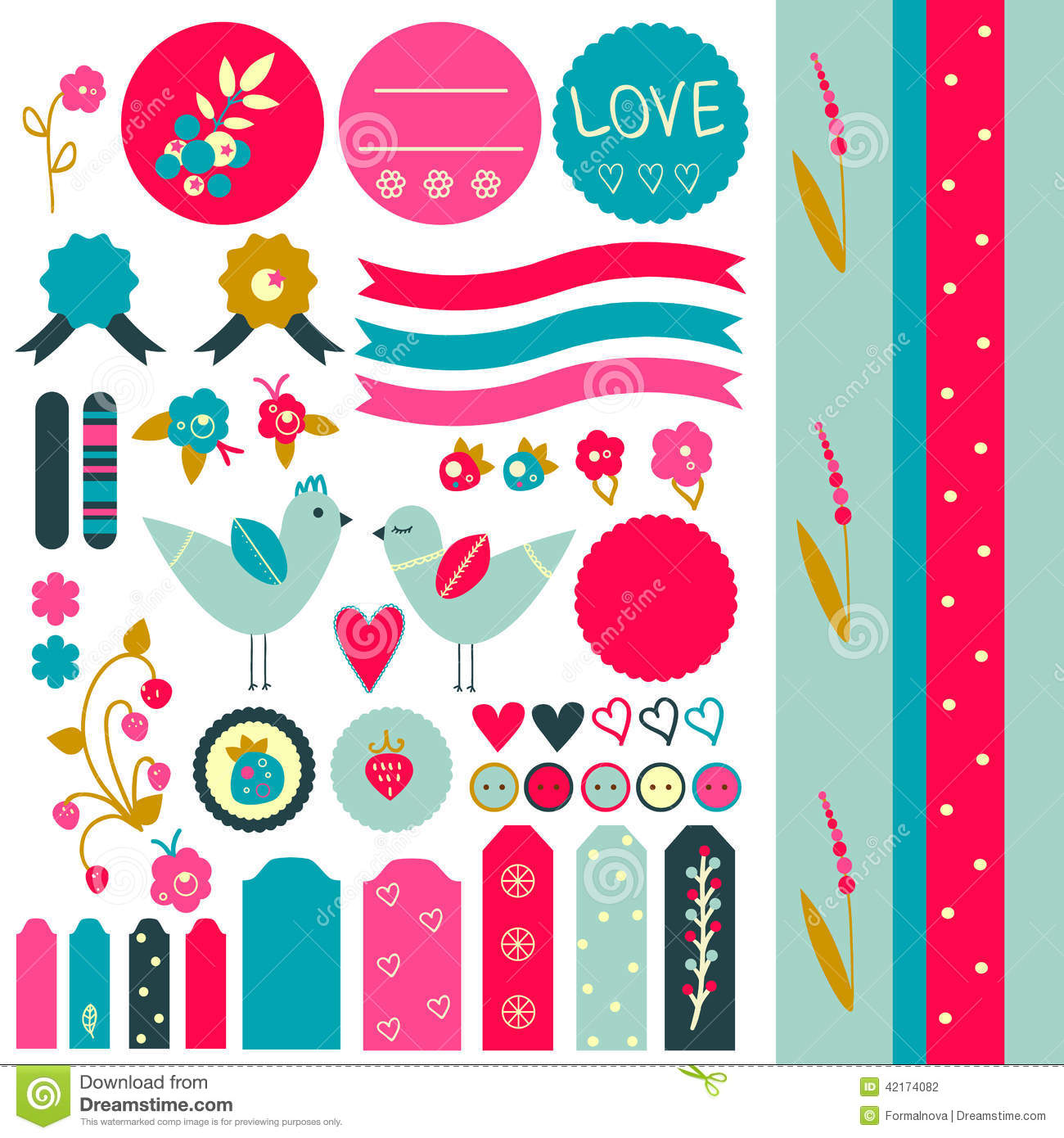 Cool Printable Scrapbook Stickers