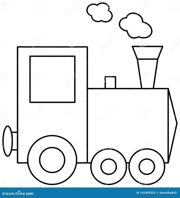 train coloring # 26