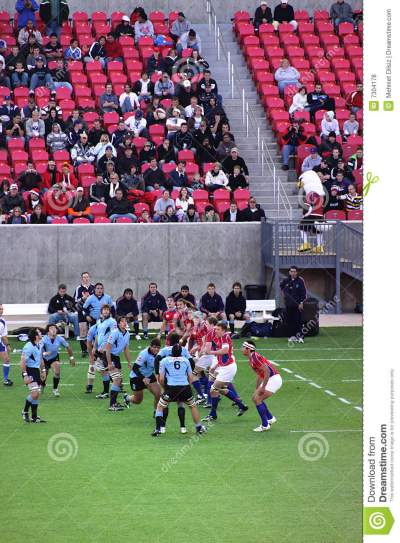 USA Eagles Vs Uruguay National Rugby Game Editorial Stock ...