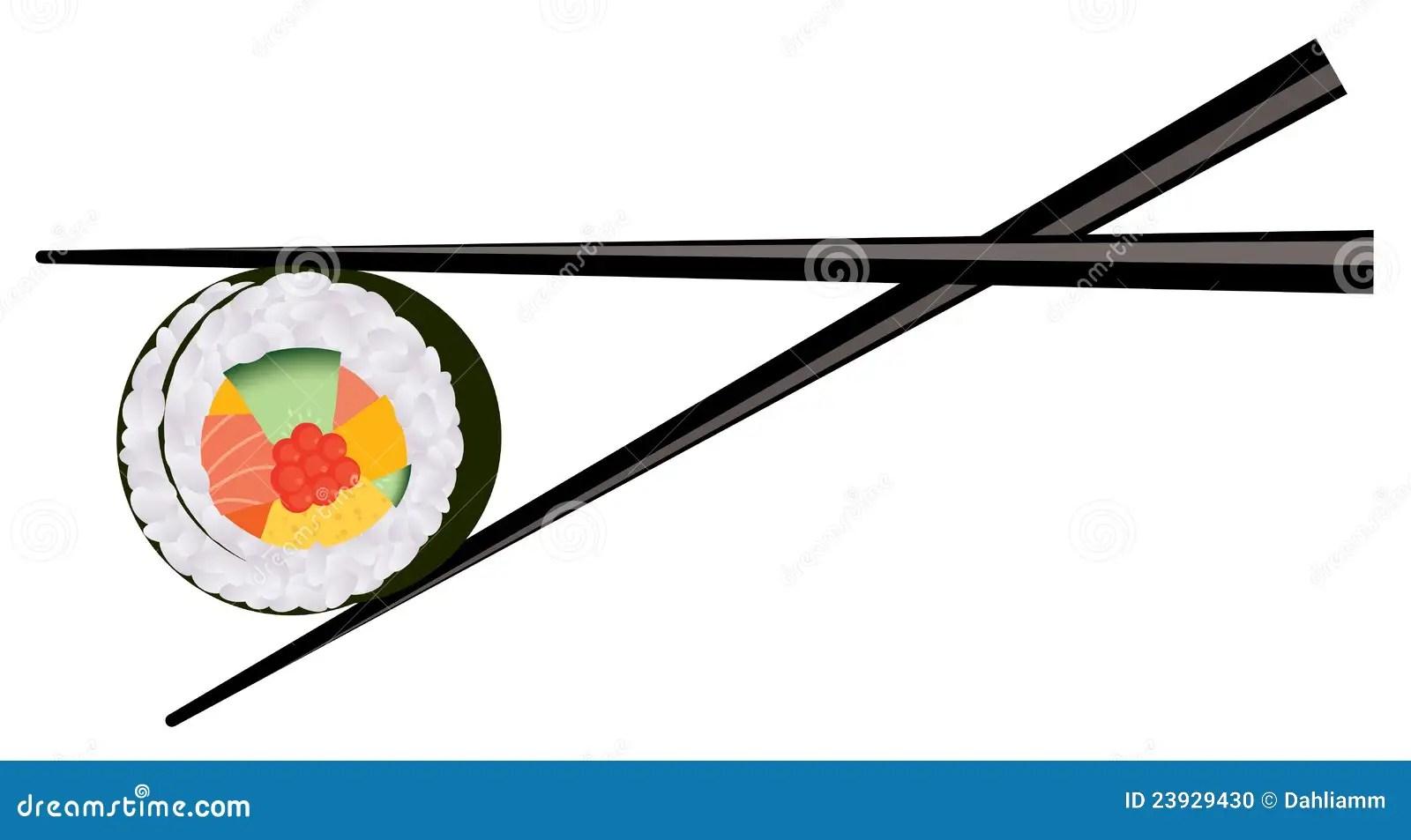Sushi Clip Art Chopsticks
