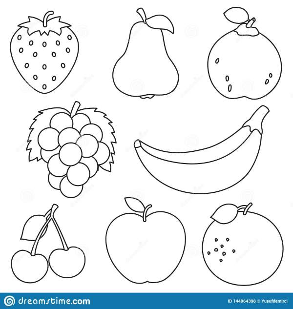 fruit coloring page # 8