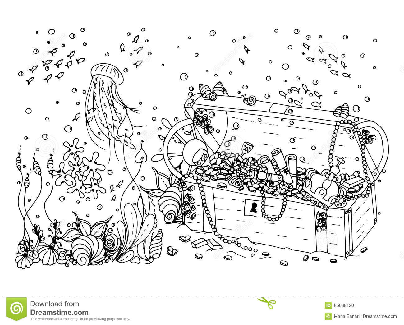 Seaweed Coloring Pages Nature