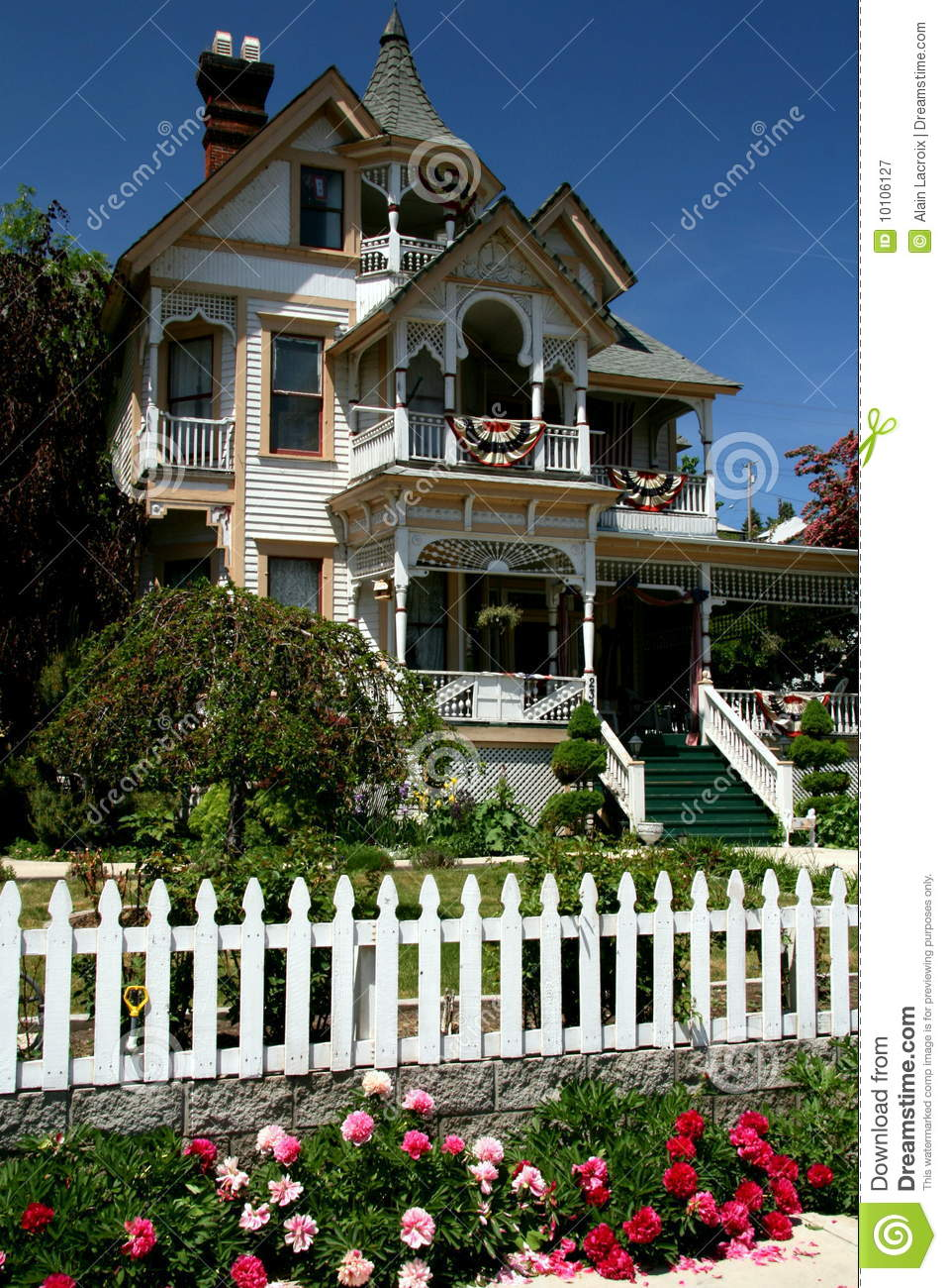 Victorian House Stock Image Image Of American Front