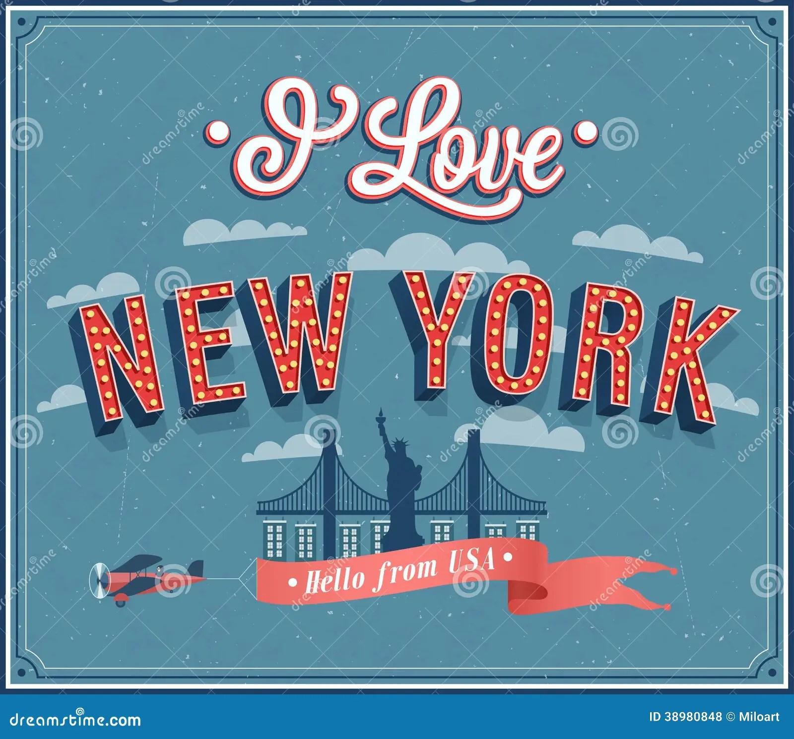 Greetings New York City