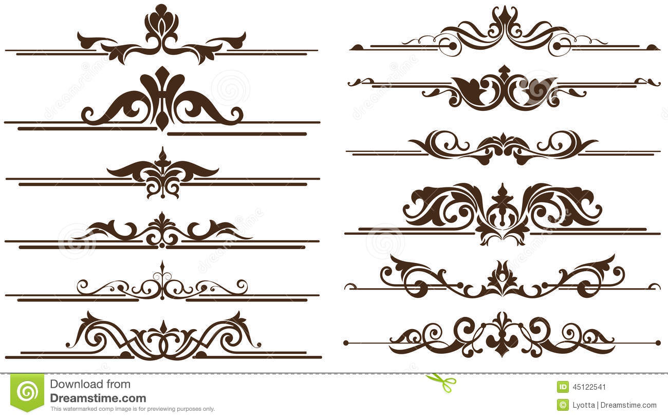 Page Decoration Ornaments