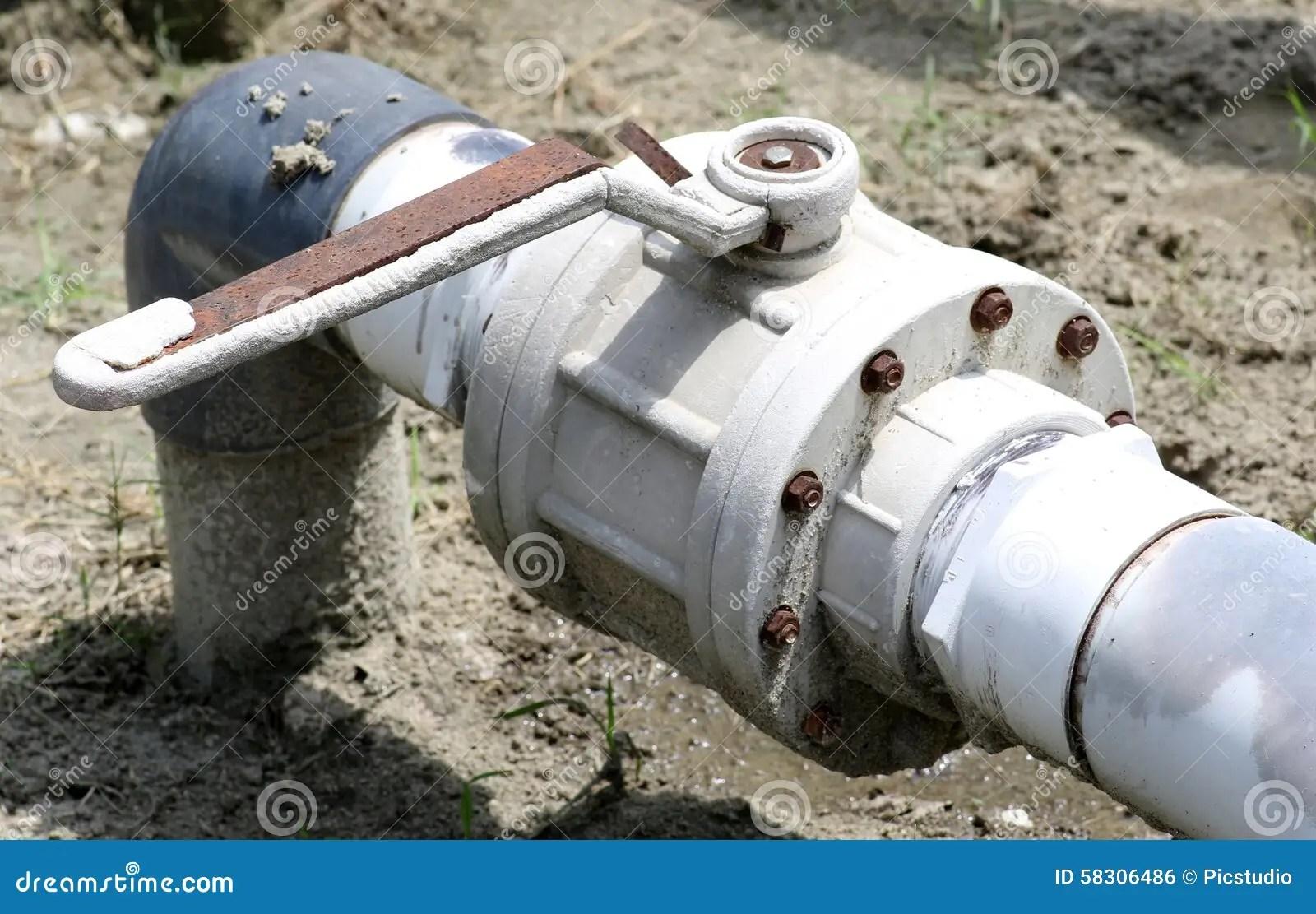 Irrigation Water Shut Valves