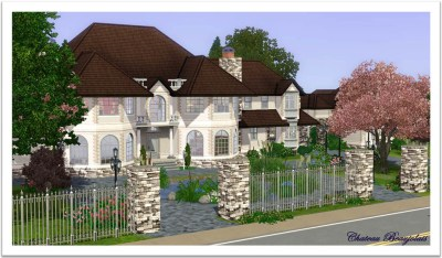 Mod The Sims - Chateau Beaujolais - French Manor