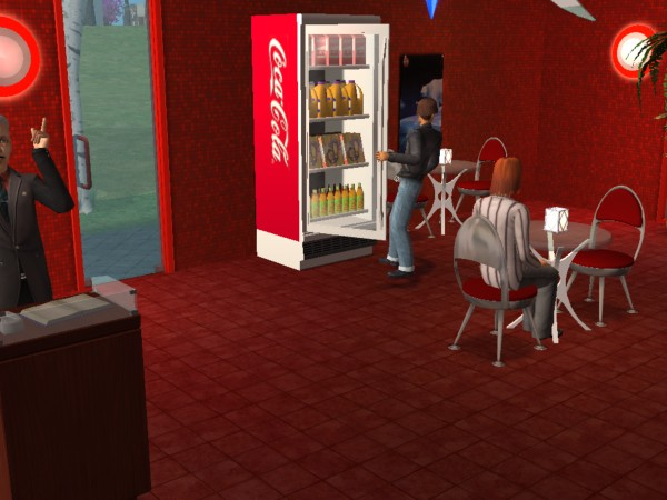 Mod The Sims Coca Cola Modern Diner