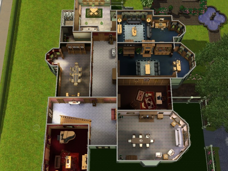 Mod The Sims   The Carson Mansion x