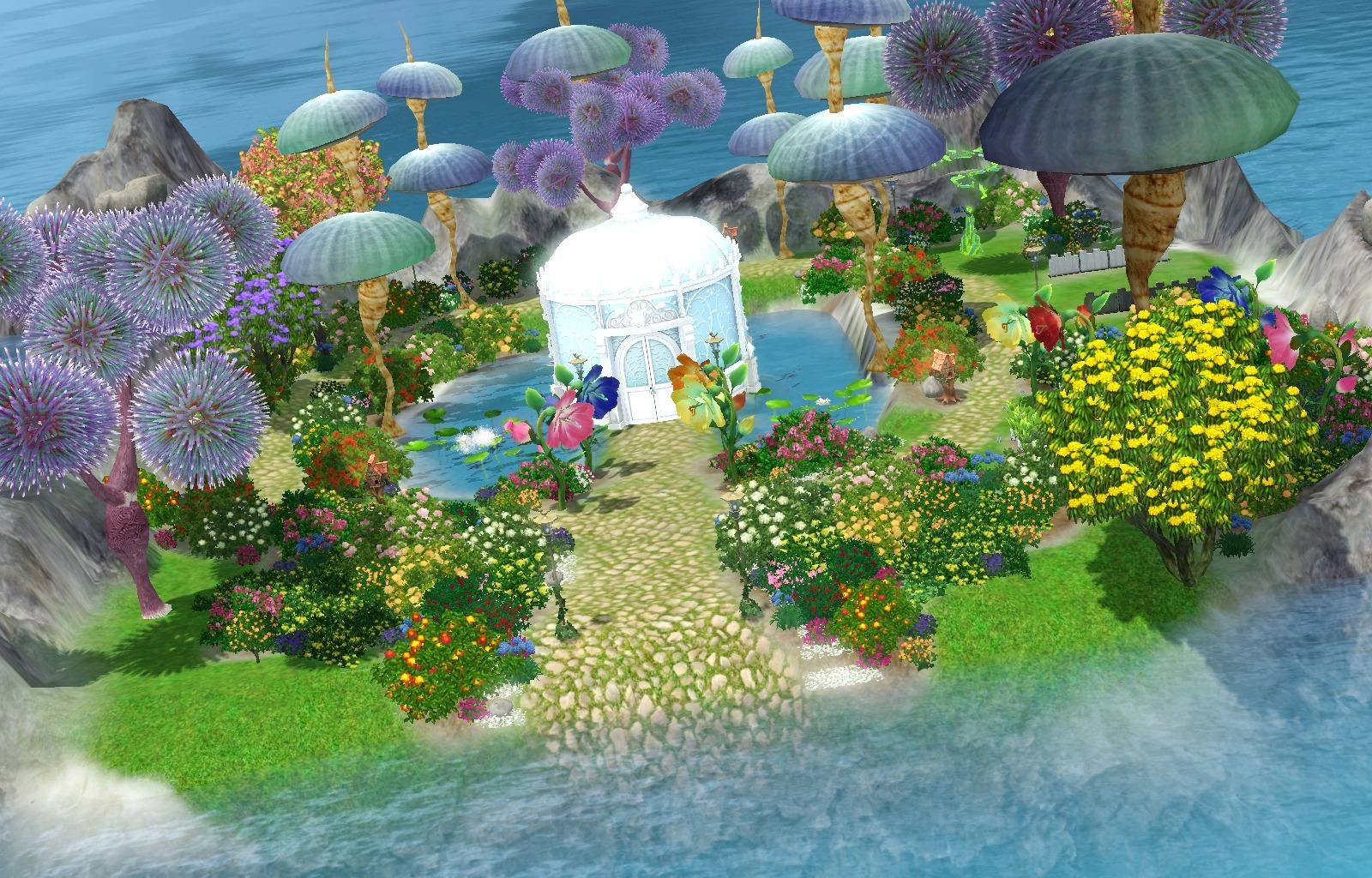 Mod The Sims Secret Fairy Hangout