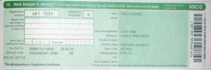 Find Your Car Registration Number