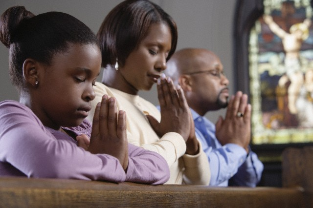 Black Family; Let's pray together. : ThyBlackMan