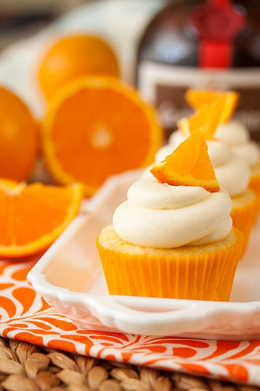 Orange Crush Cupcakes Tide And Thyme