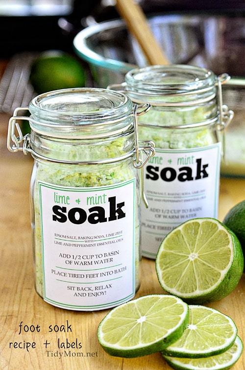 Essential Oils Bath Soak