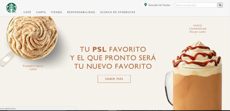 copywriting conversacional Starbucks