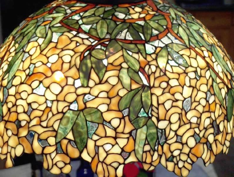 Tiffany Glascenter Lampen