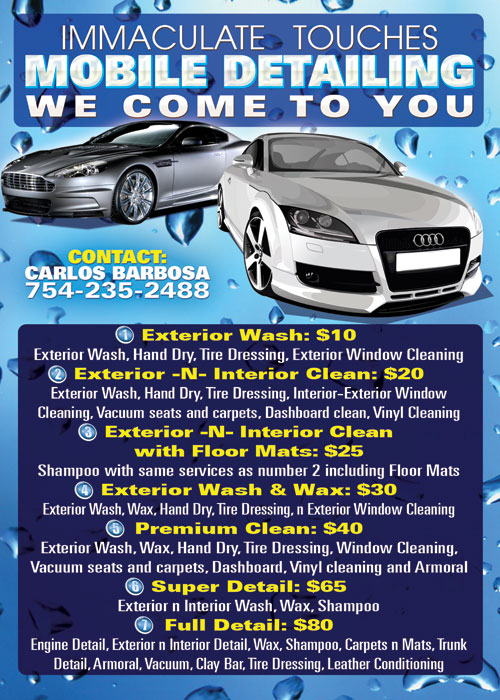 Auto Interior Cleaning